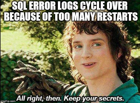 frodo secrets