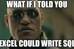 Morpheus-SQL-and-Excel