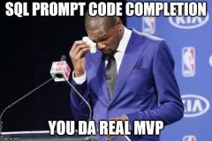 SQL Prompt real MVP