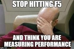 Stop hitting F5