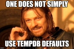 tempdb defaults